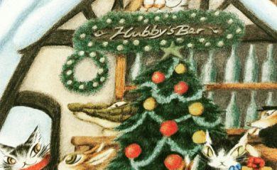 ヨールカパーティ開催中♪クリスマスギフトは猫のダヤンで決まり!